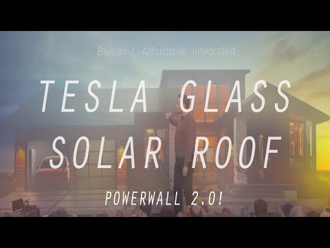 Elon Musk's Solar Roof Event In 5 MINUTES! | TESLA GLASS!