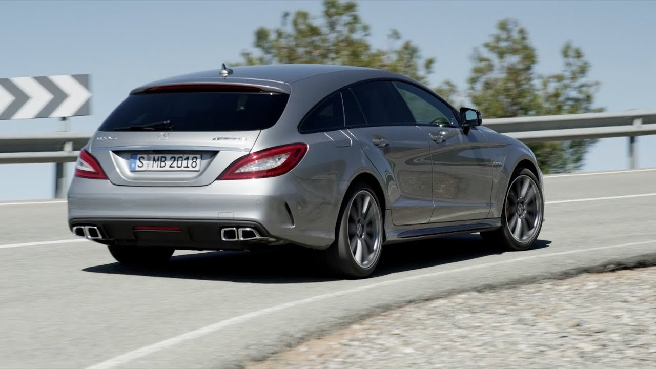 first drive 2015 mercedes cls 63 s amg shooting brake youtube