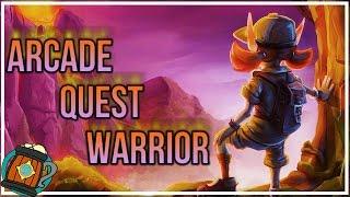 Hearthstone : Deck Tech Control Arcade Quest Warrior Journey to Un