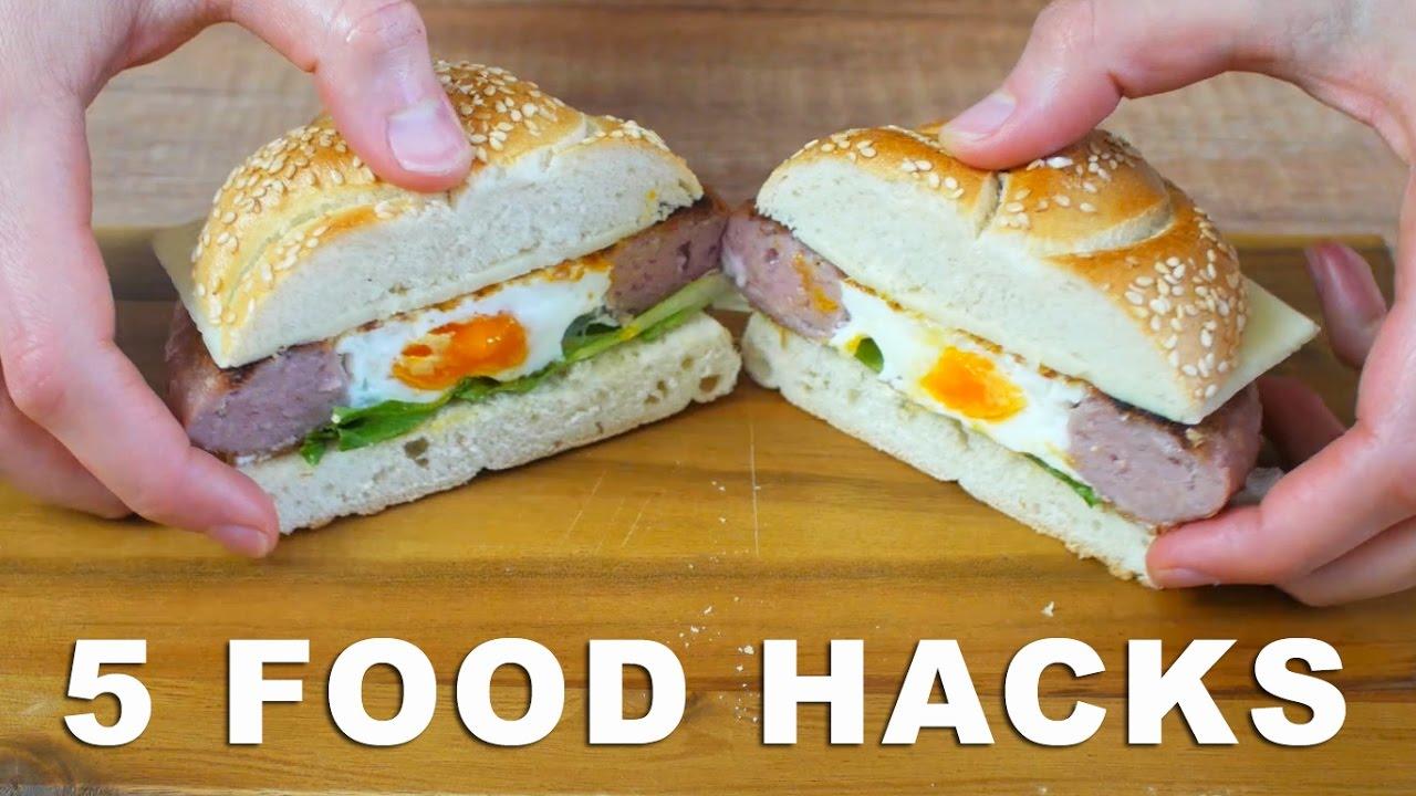 5 Food Hacks - Life Hacks