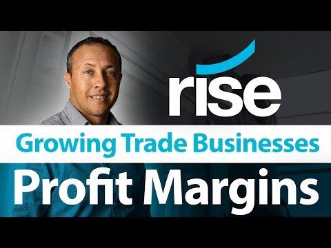 Rise Advisory - Growing Trade Businesses - Profit Margins