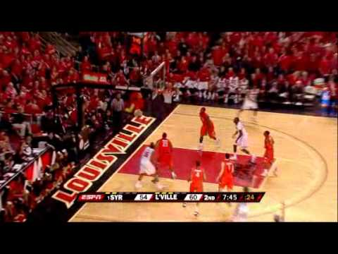 Louisville beats #1 ranked Syracuse in last game at freedom hall