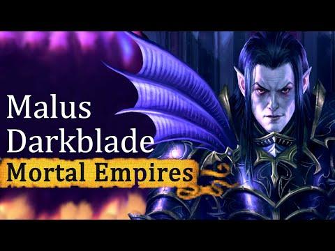Keeping Hag Graef! ● Total War Warhammer 2 Mortal Empires Malus Darkblade Episode 1