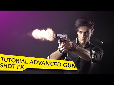 After Effects Tutorial - Advanced Cinematic Gunshot