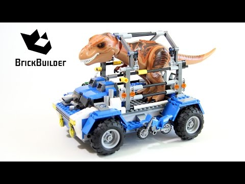 Lego Jurassic World 75918 T. rex Tracker - Lego Speed Build