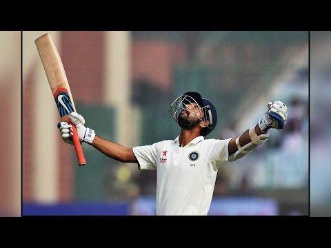 Ajinkya Rahane smashes century against West Indies, India take 304-run lead| Oneindia News