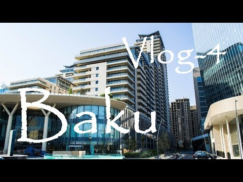 Baku - Dəniz Vogzali - Port Baku Mall - Aq Şəhər - White City / Azerbaijan - VLOG - 4