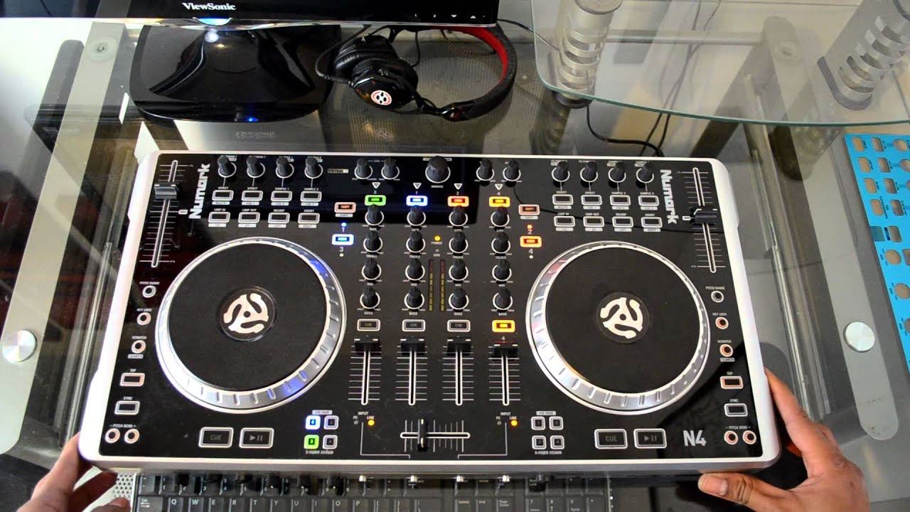 numark n4 digital dj controller review youtube. Black Bedroom Furniture Sets. Home Design Ideas