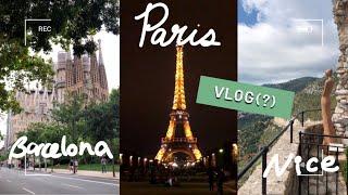 프랑스 & 스페인 여행 브이로그(?)라 할 수 …