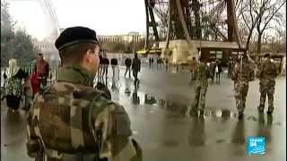 أماكن تاريخية في العاصمة الفرنسية حلقت فوقها خمس طائرات بدون طيار