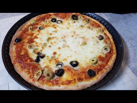صورة  طريقة عمل البيتزا طريقة عمل بيتزا الجبن سهلة جدا لازم تجربوها طريقة عمل البيتزا من يوتيوب