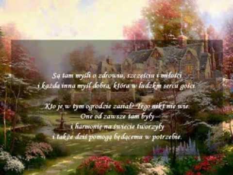 Ogród Dobrych Myśli Wiersz Przesłanie