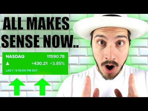 Stock Market insanity now | i know why...