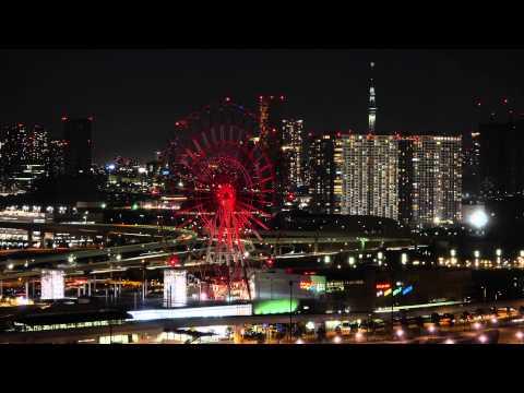 Odaiba Telecom center timelapse