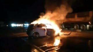หญิงท้อง-7-เดือน-ขับเก๋งชนท้ายกระบะไฟลุกท่วม-รถทัวร์ชนซ้ำ-รวมเจ็บ-12-ดับ-1