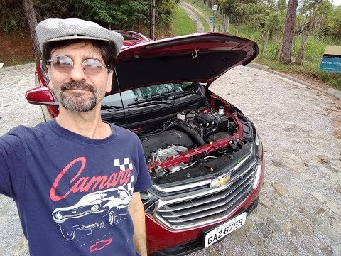 Chevrolet Equinox Premier 2018 em test-drive da TV Rebimboca