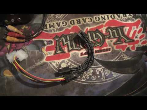 ATX IDE Molex Power Dual 4 To 6 Pin Adapter Cable unboxing