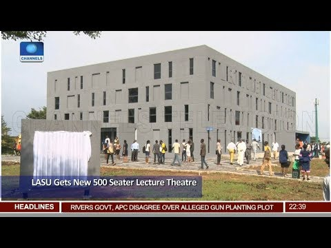 LASU Gets New 500 Seater Lecture Theatre 23/11/18 Pt.3 | News@10 |