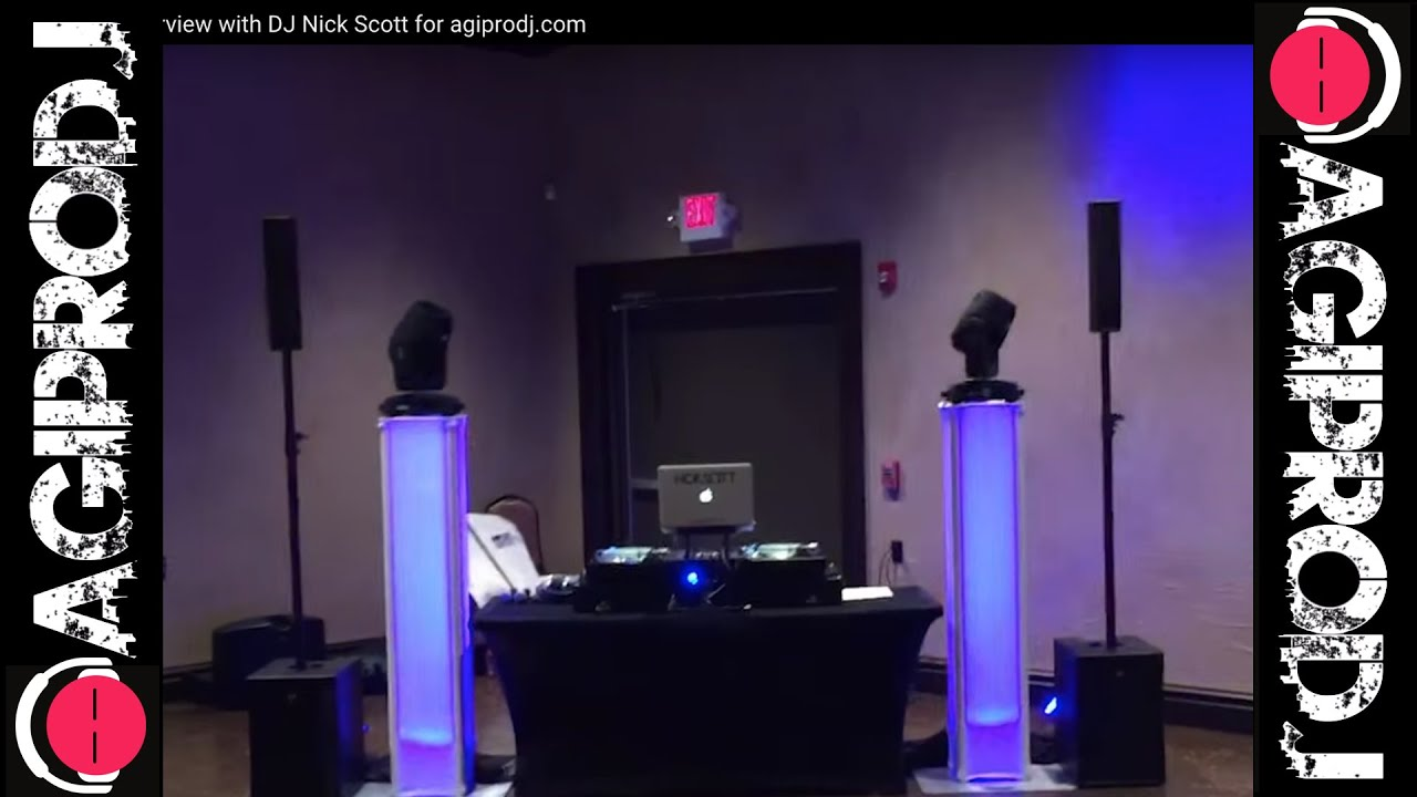 RCF EVOX 8 Overview with DJ Nick Scott for agiprodj com