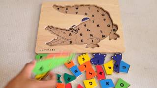 Learn ABC Letters with Crocodile Toddlers
