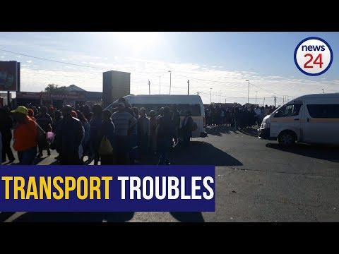 WATCH: Khayelitsha commuters feel the pinch as bus strike continues