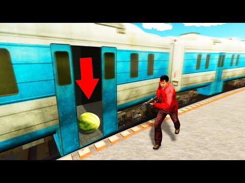 Hide And Seek In TRAINS! (Gmod Prop Hunt)