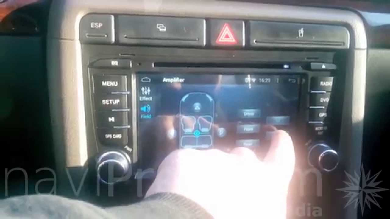 audi a4 2002 2009 android radio nawigacja gps dvd. Black Bedroom Furniture Sets. Home Design Ideas