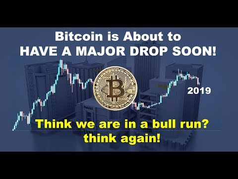 Bitcoin Price Is Dropping & The BIG DROP Is Coming Soon! Think We Are In A BTC Bull Run? Think Again