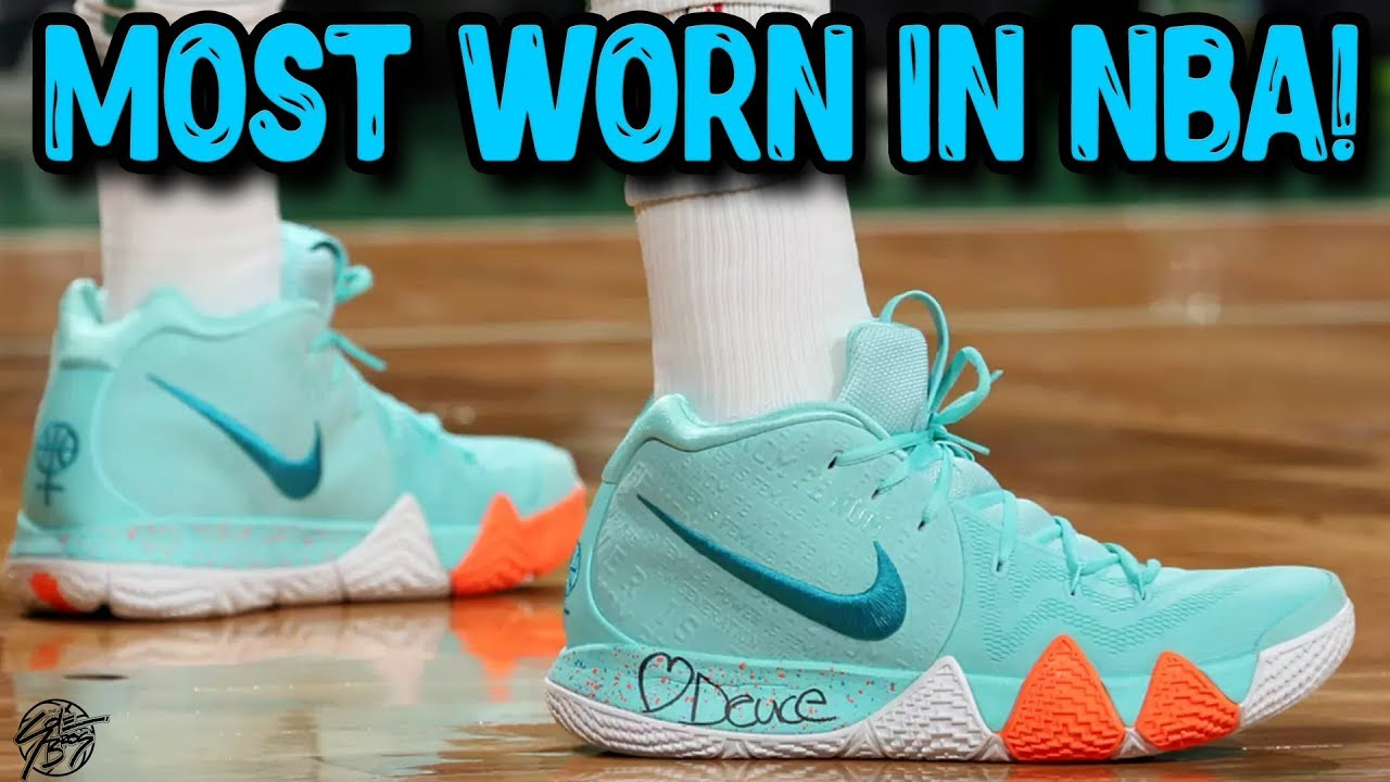 Top 5 Most Worn Signature Shoes by NBA