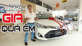 Giá trọn gói xe Toyota Altis 1.8E và 1.8G | Giá nào là hợp lý nhất? | Altis 2020 Thái Lớn