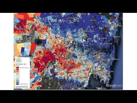 Sydney: Advantage, disadvantage and demographic characteristics