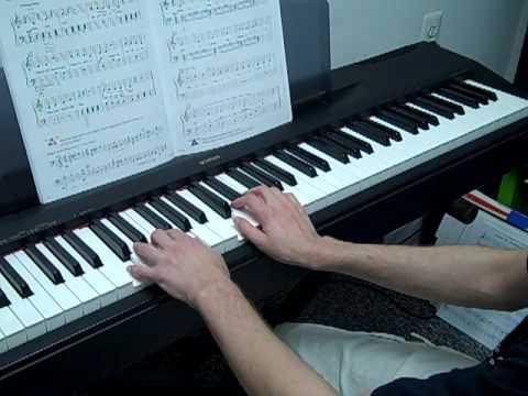 Piano Tutorial Row Row Row Your Boat Level 1 Lesson Youtube
