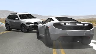 Luxury & Sport Cars Crashes Compilation #9 - BeamNG.Drive