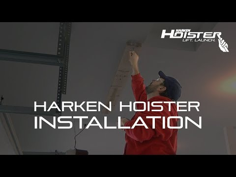 Harken Hoister Installation