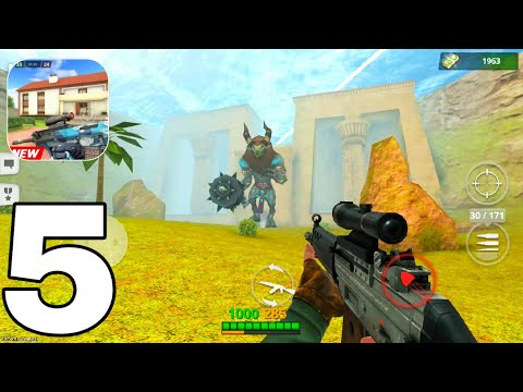 Special Ops: FPS PvP War-Online Gun Shooting Games | GamePlay Walkthrough PART 5 (iOS, Android)