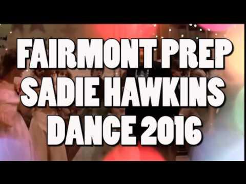 Fairmont Preparatory Academy Sadie Hawkins Dance 2016- S80'S