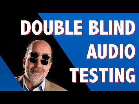 Double blind audio testing