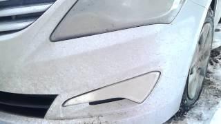 HYUNDAI Solaris 2014 бронирование пленкой авто стоит ли делать