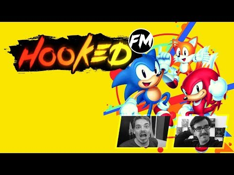 Hooked FM #136 - Sonic Mania, Tacoma, Slime-san, Dragonball Super & mehr!