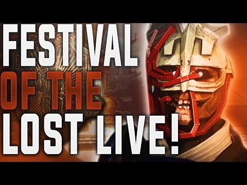Destiny Weekly Reset and Festival of the Lost Kick Off. Quests, Treasures, Ornaments and More!