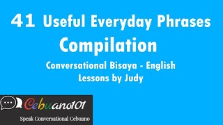 41 Useful Everyday Phrases Compilation