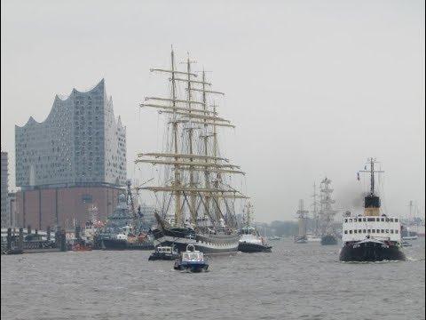 829. Hafengeburtstag Hamburg 2018 - Kruzenshtern - Ex Padua  - Крузенште́рн