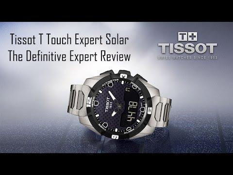 An Inside Look of T Touch Expert Solar Men's Watch T091 420 44 051 00