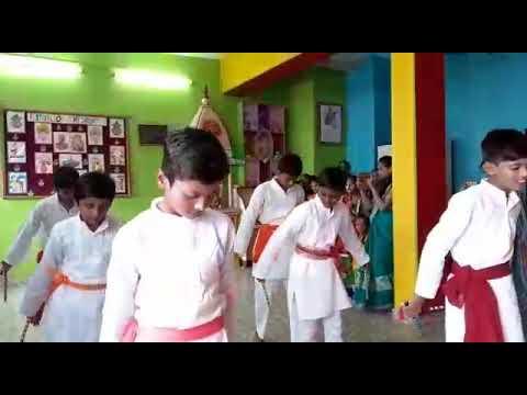 Navaratri celebration at The River School,Varanasi