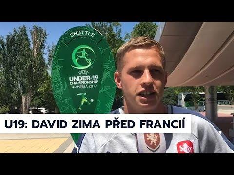 U19 | Obránce David Zima před zápasem s Francií