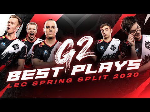 G2 Best Plays | LEC Spring Split 2020