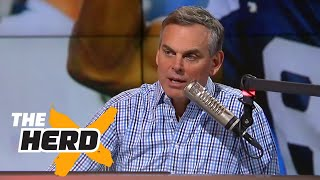 Colin reacts to Terrell Owens on UNDISPUTED with Skip and Shannon | THE HERD