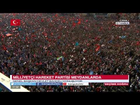 MHP ISTANBUL MITINGI