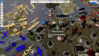 Axis and Allies Global -  Round 1