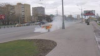 Велопокатушка по Москве | BURNOUT от мустанга